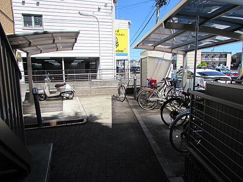 アパート-柏市東台本町 駐輪・バイク置き場