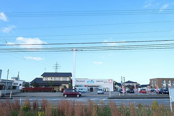 土地-富山市婦中町速星 北側の景観