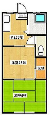アパート-木更津市清見台南2丁目 間取り