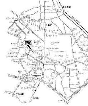 倉庫-板橋区加賀1丁目 地図