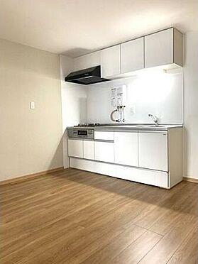 マンション(建物一部)-神戸市垂水区高丸8丁目 システムキッチンを導入