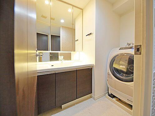 中古マンション-品川区荏原3丁目 収納たっぷりの洗面スペースです
