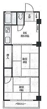 マンション(建物一部)-横浜市金沢区釜利谷東4丁目 間取り