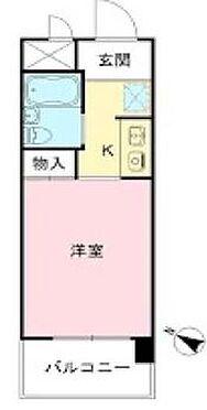区分マンション-品川区平塚2丁目 間取り