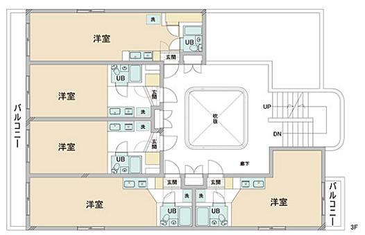 一棟マンション-八王子市大塚 3F