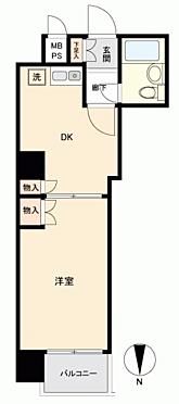 マンション(建物一部)-大阪市西区新町2丁目 間取り