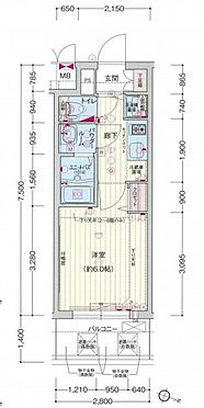 マンション(建物一部)-大阪市北区中津2丁目 反転タイプ