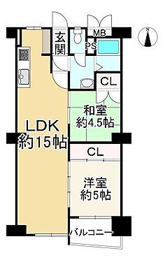 中古マンション-大阪市旭区高殿5丁目 間取り
