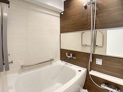 中古マンション-名古屋市名東区名東本町 ゆとりある浴室で一日の疲れを癒せます。