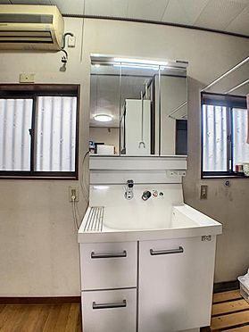 中古一戸建て-知多市日長字穴田 洗面台