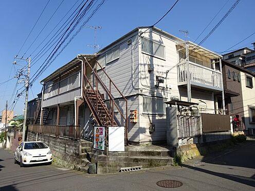 アパート-横須賀市久里浜3丁目 北西角地で開放感のある敷地