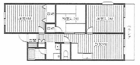 マンション(建物全部)-さいたま市桜区田島3丁目 間取り
