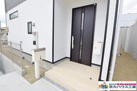 戸建賃貸-仙台市太白区八木山南2丁目 玄関