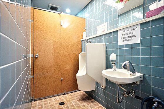 店舗(建物一部)-横浜市南区井土ケ谷下町 廊下部分:共同トイレ