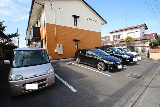 アパート-水戸市住吉町 駐車場