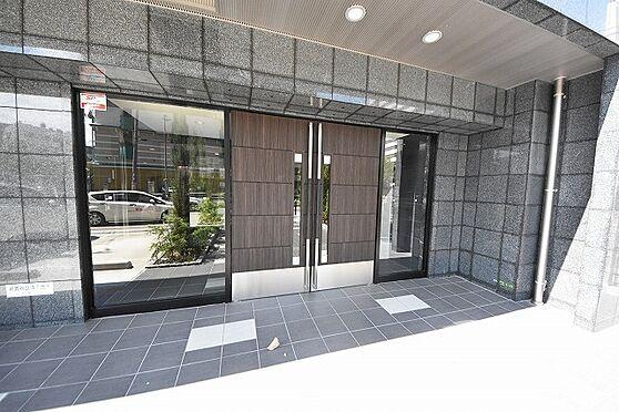 マンション(建物一部)-大阪市東淀川区東中島1丁目 オシャレなエントランス。