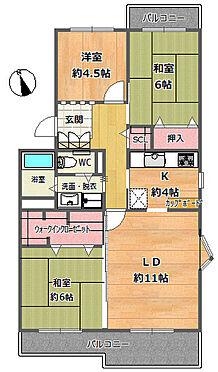 マンション(建物一部)-大阪市都島区毛馬町2丁目 大容量のウォークインクローゼット有り