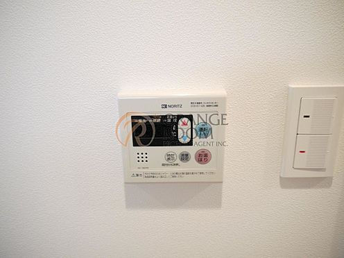 マンション(建物一部)-豊島区南大塚3丁目 見やすく便利な給湯リモコンをキッチン近くに設置。