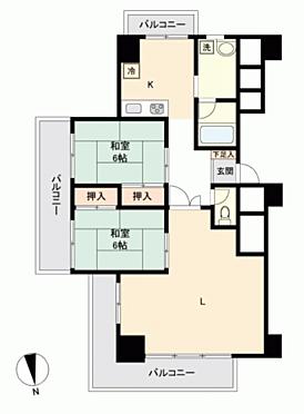 マンション(建物一部)-横須賀市芦名1丁目 間取り
