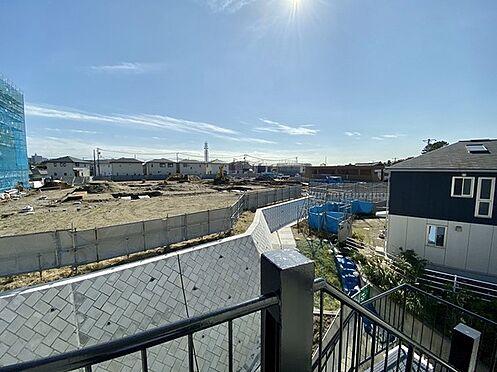 収益ビル-藤沢市本町4丁目 共用スペース。西側の眺望がきれいです。