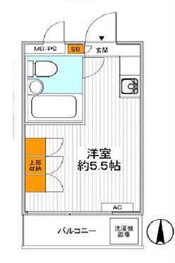 マンション(建物一部)-渋谷区幡ヶ谷2丁目 間取り図