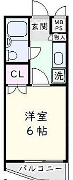 区分マンション-練馬区上石神井1丁目 間取り