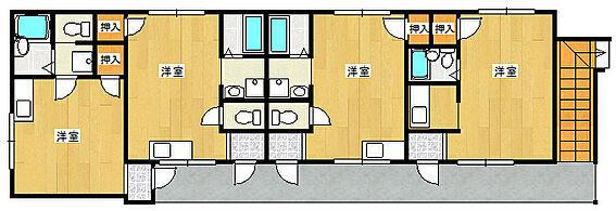 マンション(建物全部)-大阪狭山市池尻中1丁目 間取り