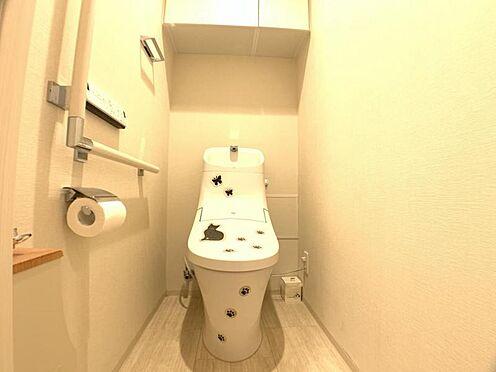 区分マンション-東海市高横須賀町御洲浜 快適な暖房便座付きシャワートイレ♪