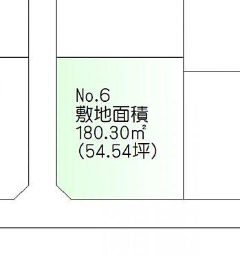 土地-石巻市蛇田字中埣 区画図