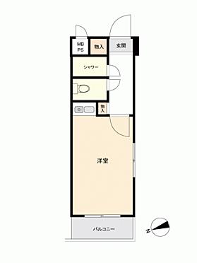 中古マンション-江戸川区松島4丁目 間取り