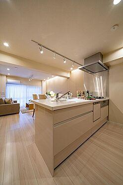 中古マンション-港区芝浦4丁目 食洗機付、対面キッチン