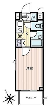 マンション(建物一部)-大田区南馬込6丁目 間取り
