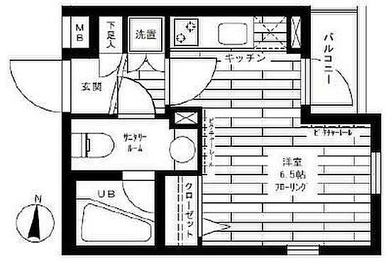 マンション(建物一部)-大田区千鳥2丁目 間取り