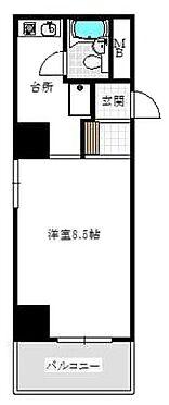 マンション(建物一部)-大阪市中央区博労町3丁目 水まわりと居室を分けた暮らしやすい間取り