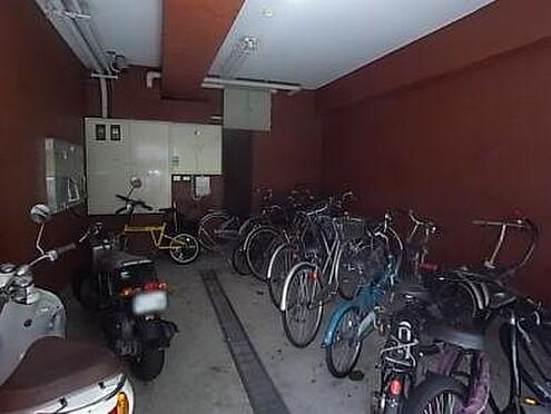 マンション(建物一部)-神戸市灘区福住通5丁目 使いやすい駐輪スペース