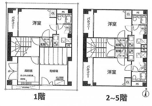 マンション(建物全部)-墨田区横川5丁目 間取り