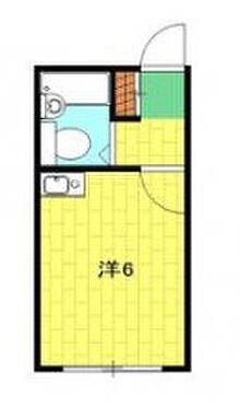 アパート-横浜市神奈川区六角橋 間取り