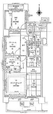 マンション(建物一部)-大阪市東住吉区北田辺6丁目 間取り