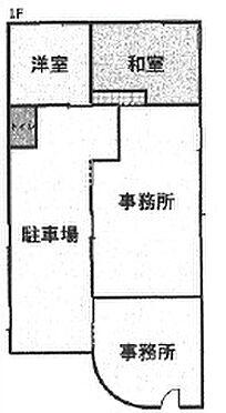 店舗付住宅(建物全部)-海南市下津町丸田 間取り