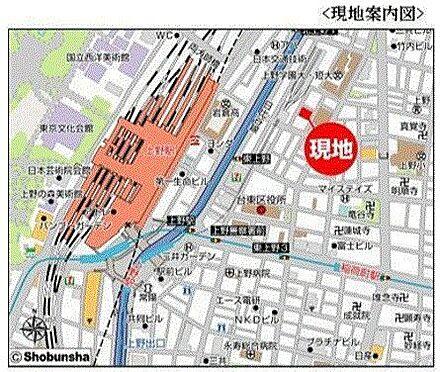 ビル(建物全部)-台東区東上野4丁目 地図