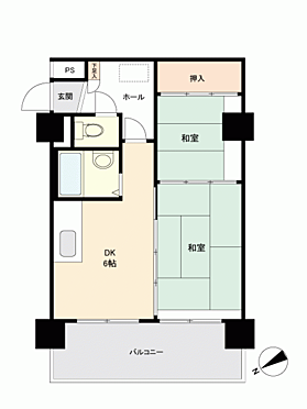 中古マンション-札幌市西区琴似1丁目 間取り