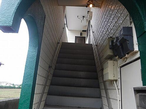 店舗付住宅(建物全部)-八街市八街に 外観写真2020.07.13撮影アパート部分、階段