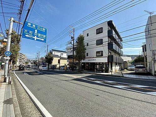 収益ビル-藤沢市本町4丁目 藤沢方面、国道1号線方面に向かうのに便利な道路県道43号線沿い