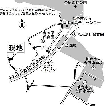 アパート-仙台市青葉区台原3丁目 地図