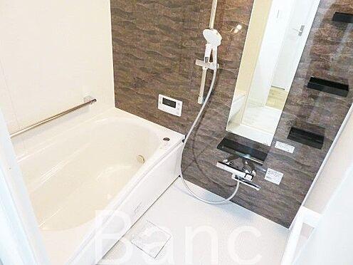 中古マンション-渋谷区本町3丁目 追炊き浴室換気乾燥機能付きシステムユニットバス花粉の時期や梅雨時は浴室乾燥機があると助かりますね