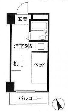 区分マンション-渋谷区代々木3丁目 間取り