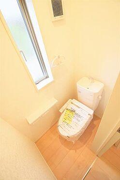 新築一戸建て-仙台市太白区富沢字六本松 トイレ