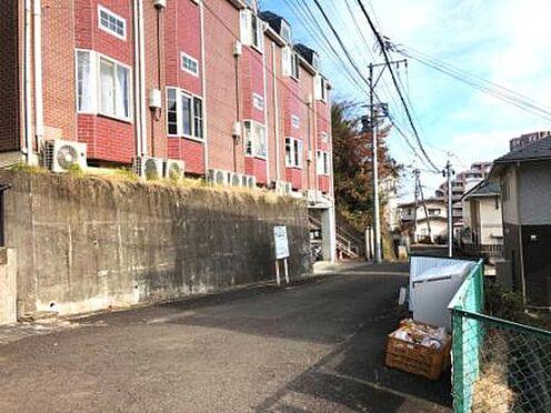 アパート-仙台市青葉区青葉町 前面道路