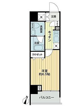 中古マンション-横浜市鶴見区本町通3丁目 間取り