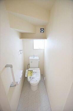 新築一戸建て-仙台市宮城野区自由ケ丘 トイレ